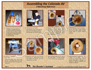 Assembling The Colorado AV