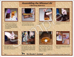 Assembling The Missouri AV