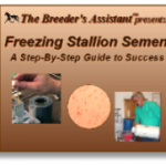 Freezing Stallion Semen DVD