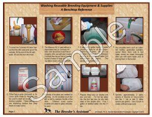 Washing Reusable Breeding Eq_Supplies pg 1 Sample