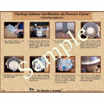 Flushing Catheter Sterilization via Pressure Canner