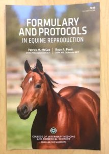 """Formulary and Protocols in Equine Reproduction"" Book   Second Edition (2018)"